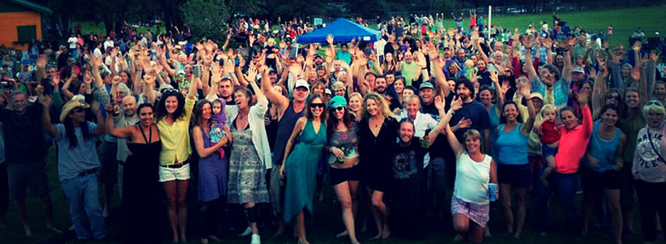 Where's Mikey? - Fans love a Sundown Poachers Outdoor Concert...